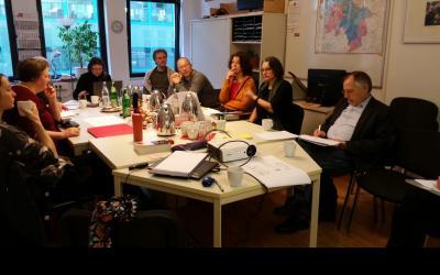 """Austauschtreffen zum Sammeln unserer Erfahrungen über den Modellförderung """"Abbau von Vorurteilen durch Kontaktmaßnahmen im Rahmen von Gemeinwesenarbeit"""""""