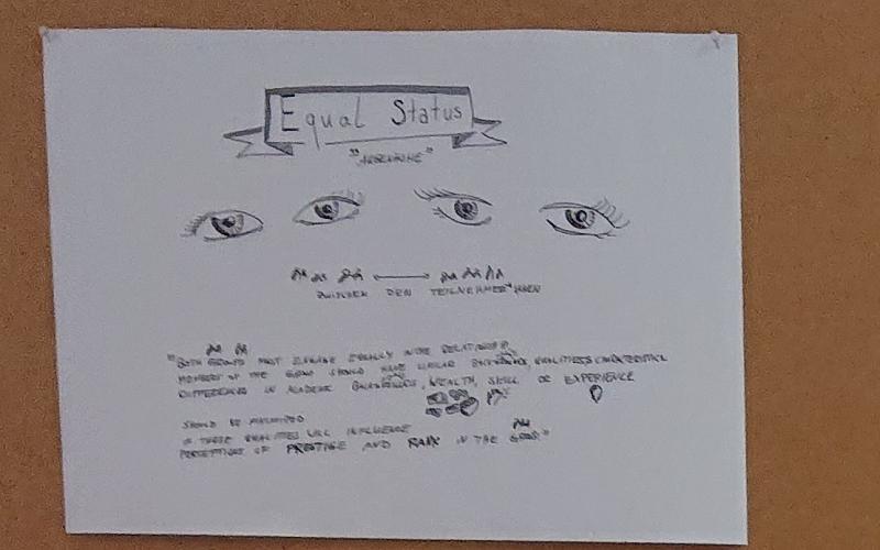 Augenhöhe ist eines der Kriterien idealtypischen Kontaktes